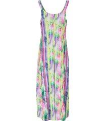 jurk met kleurrijk streepdessin van rösch multicolour