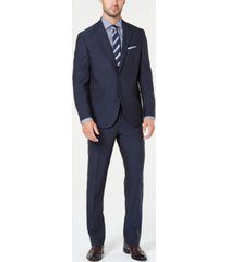 dockers men's modern-fit stretch pin dot suit