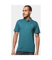 camisa polo lacoste sport tennis regular masculina