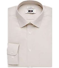 joseph abboud ecru egyptian cotton dress shirt