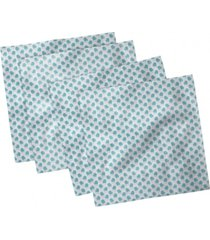 "ambesonne mittens set of 4 napkins, 12"" x 12"""