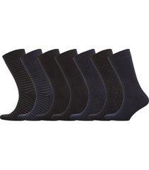 jbs socks bamboo 7 pairs box underwear socks regular socks svart jbs