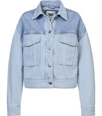 america today trucker jacket hella cb blauw