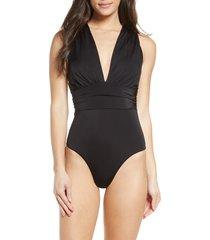 women's chelsea28 convertible one-piece swimsuit, size xx-large - black