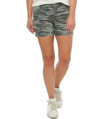 """women's """"ab"""" solution 4"""" shorts with pulled string hem"""
