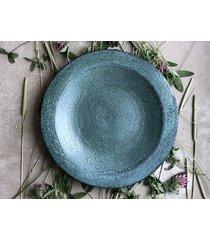 ceramiczny talerz / półmisek turquoise