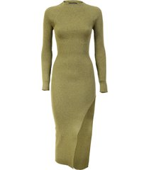 wandering asymetric knit dress