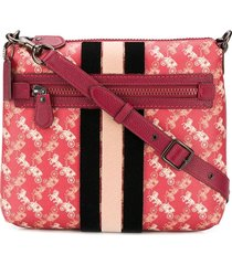 coach olive crossbody bag - red
