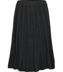 henna skirt knälång kjol svart jumperfabriken