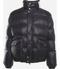 alexander mcqueen nylon jacket with contrasting graffiti print
