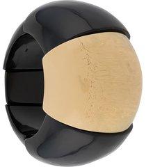 a.n.g.e.l.o. vintage cult 2000s oversized bracelet - black