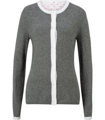 cardigan bavarese (grigio) - bpc bonprix collection