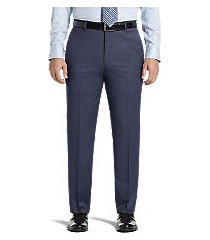 signature collection tailored fit flat front dress pants by jos. a. bank