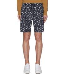 'carlton' graphic print shorts