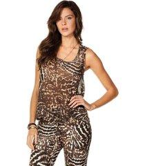 blusa sly wear animal print