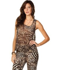 blusa sly wear animal print