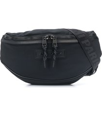 ami paris waist pouch - black