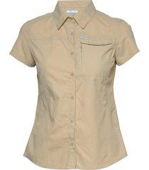 silver ridge™ 2.0 short sleeve kortärmad skjorta beige columbia