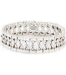 lys etain' swarovski rhinestone embroidered bracelet