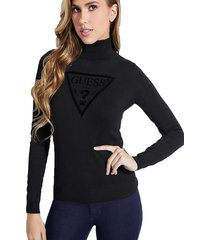 chaleco ls tn elisa sweater negro guess