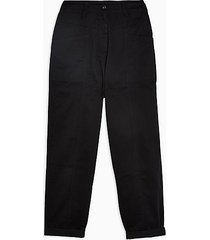 80's style tapered pants - black