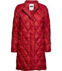 ernada otw doorgestikte jas rood part two