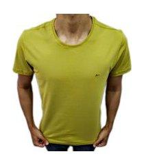 camiseta básica aramis amarelo cs.01.1499024