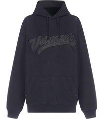 vetements hip hop logo oversized cotton hoodie