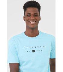 camiseta nicoboco palmiun azul