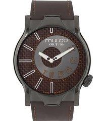 reloj mulco para hombre - couture nyc  mw-5-2013-235