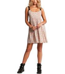 volcom juniors' some thyme printed dress