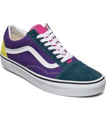 ua old skool låga sneakers multi/mönstrad vans