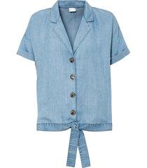 camicia in tencel™ lyocell (blu) - bodyflirt