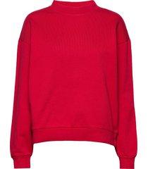 sweater sweat-shirt trui rood replay