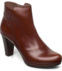 i-4928 shoes boots ankle boots ankle boot - heel brun wonders