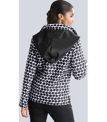 jacka alba moda svart::vit