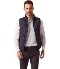 chaqueta sin mangas nice azul new man