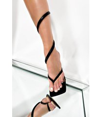 akira around it goes wrap thong sandal