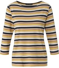 shirt ronde hals en 3/4-mouwen van betty barclay multicolour