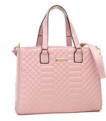 bolsa transversal alice monteiro metalassê quadriculada rosa bebe