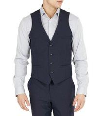 bar iii men's slim-fit solid wool suit vest, created for macy's