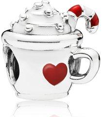 pandora cocoa mug charm in silver at nordstrom