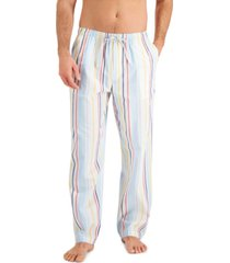 club room men's bromley striped pajama pants, created for macy's