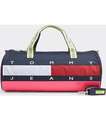 bolso heritage duffle bicolor tommy jeans