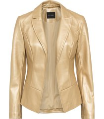 giacca in similpelle (oro) - bodyflirt
