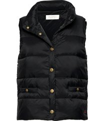 amy down vest vests padded vests zwart busnel