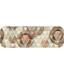 passadeira buttons and triangles único love decor
