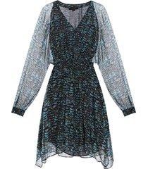 'nichola' patterned dress