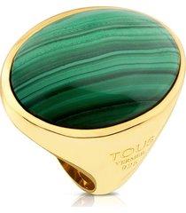 anillo camee dorado tous 712325571 - superbrands