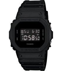g-shock men's digital black resin strap watch 43x43mm